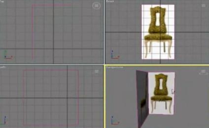 [3dmax视频教程] 3dmax欧式餐椅脚模型