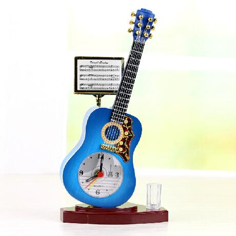 创意吉他闹钟