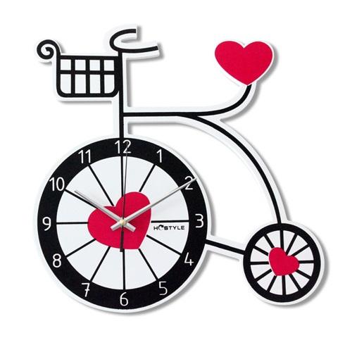 自行车个性创意挂钟