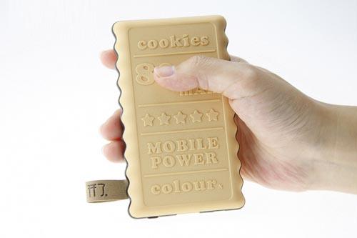 饼干移动电源-工业创意设计