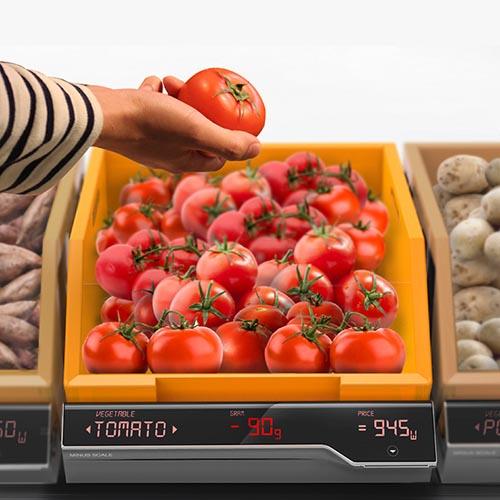 超市自动称重托盘-工业创意设计