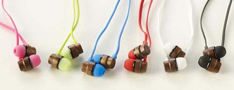 创意设计之手工木制耳机