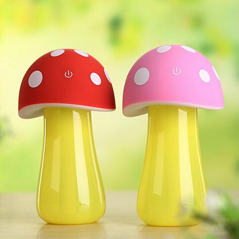 蘑菇加湿器创意台灯
