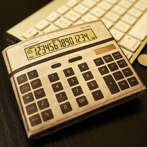 计算器创意钱包