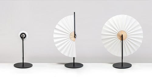 折扇灯-工业创意设计