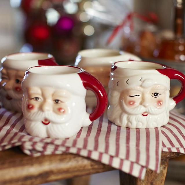 圣诞马克杯装饰储物罐