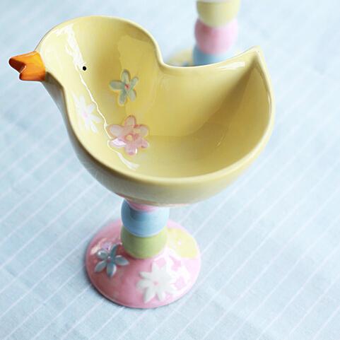 可爱创意陶瓷布丁碗沙拉碗