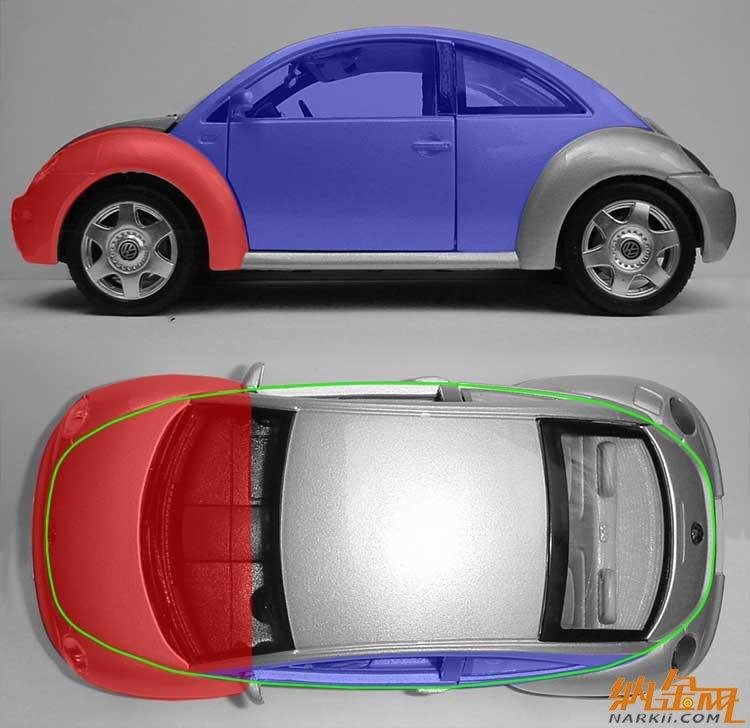 3D新甲壳虫汽车的犀牛建模教程高清图片