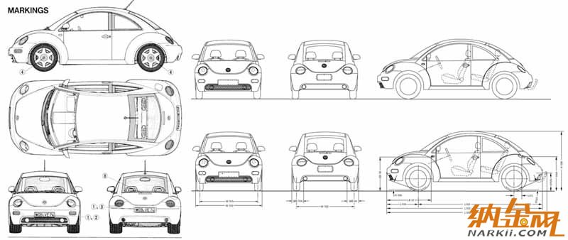 3d新甲壳虫汽车的犀牛建模教程