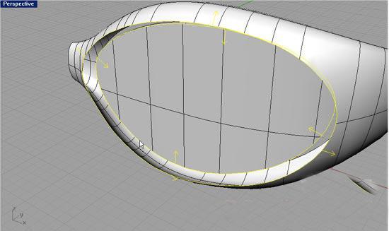 犀牛软件制作眼镜教程 - 纳金网