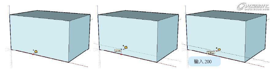 图1 创建辅助线