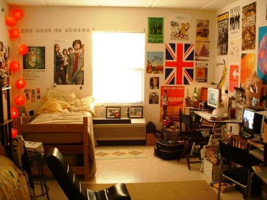 五彩小户型女生卧室装修设计   工业设计   主页   当前位