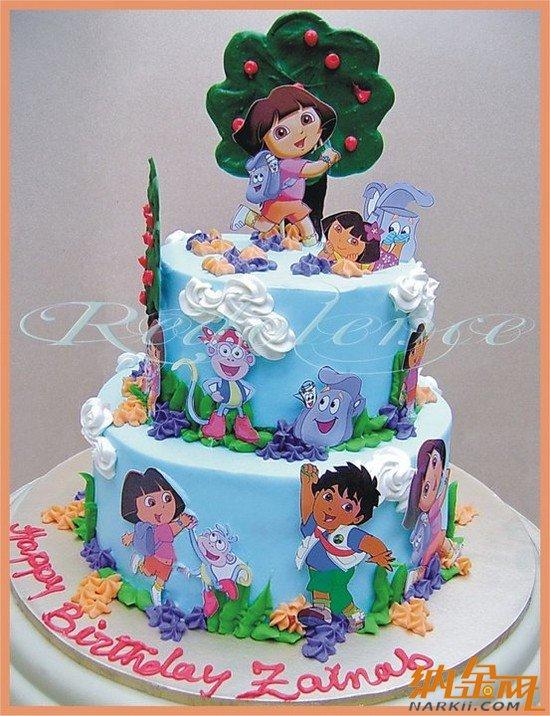 创意儿童生日蛋糕大全(一)