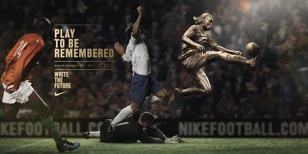 创意 耐克/耐克的足球系列创意广告