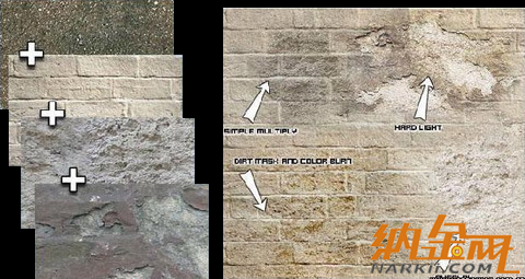 3dmax制作遗落的欧式建筑材质图片
