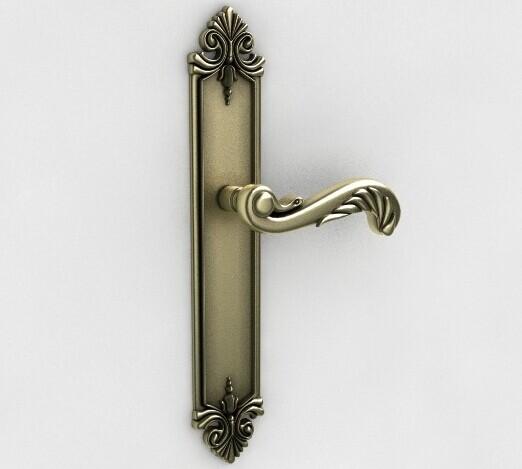3d门把手模型_玻璃门把手3d模型下载-纳金网