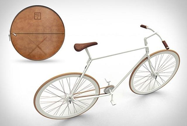 可完全打包的自行车-工业创意设计