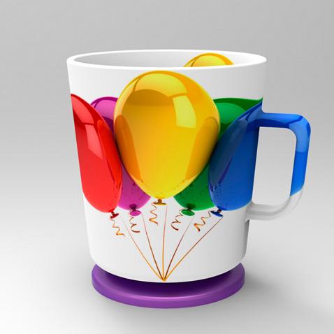 吸盘杯-工业创意设计