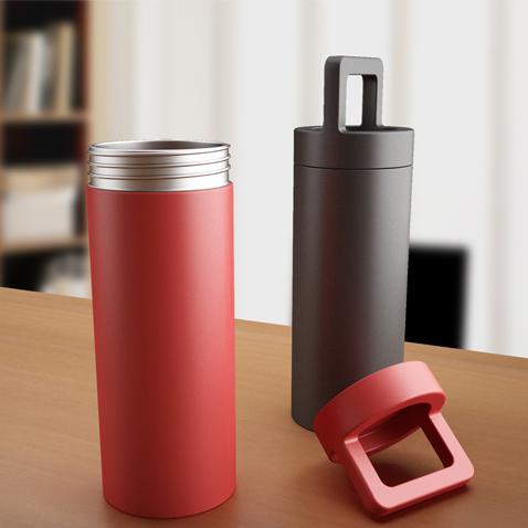 水桶保温杯-工业创意设计