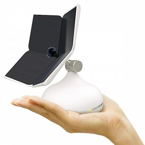 向日葵太阳能充电器-工业创意设计