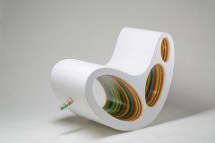 """DP Chair 内有""""彩虹""""-工业创意设计"""