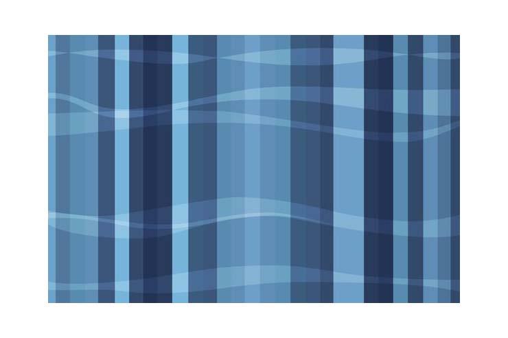 蓝色窗帘布料贴图