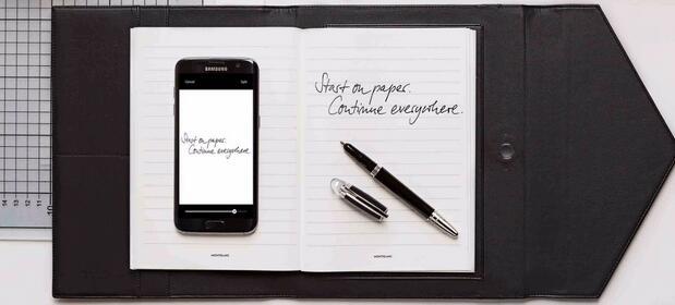 创意设计 万宝龙augmented paper 智能数字笔记本实测