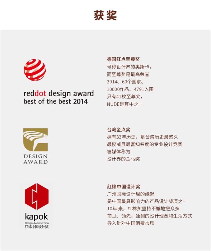 『创意设计』创意实木质衣帽架红点设计奖9