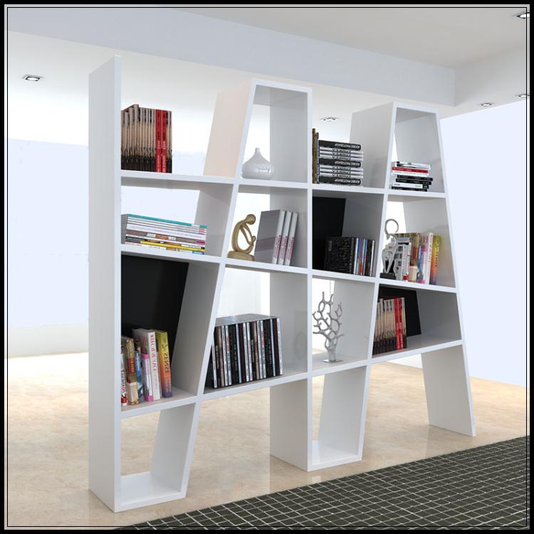 木结构时尚创意隔板书架1