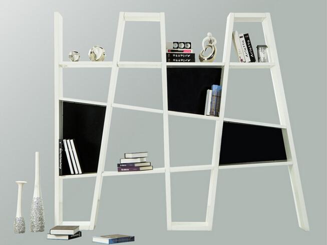 木结构时尚创意隔板书架2