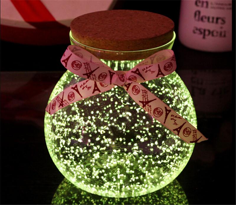 520创意发光玻璃瓶情人节礼物4