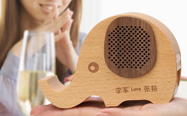 生日礼物送朋友送闺蜜的创意音响手机支架 4