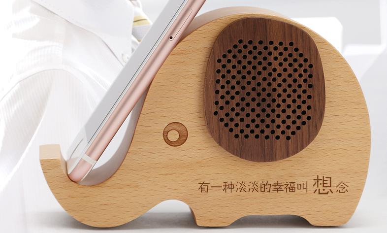 生日礼物送朋友送闺蜜的创意音响手机支架 2