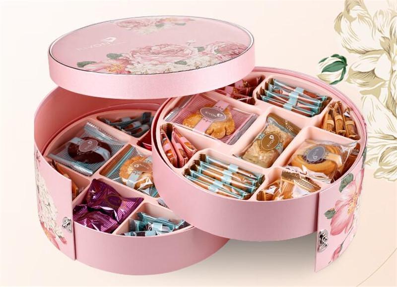 饼干的首饰盒春节礼品