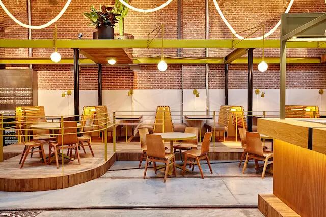 荷兰阿姆斯特丹Kanarie Club 大仓库改的咖啡馆