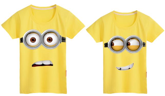 小黄人创意情侣t恤 1