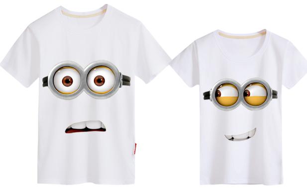 小黄人创意情侣t恤 2