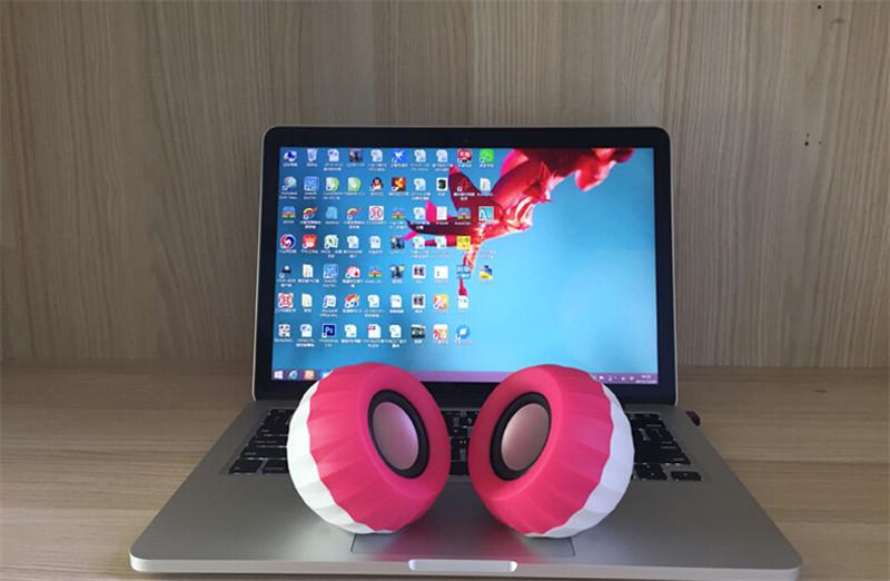 热气球创意笔记本台式电脑音响男生礼物4