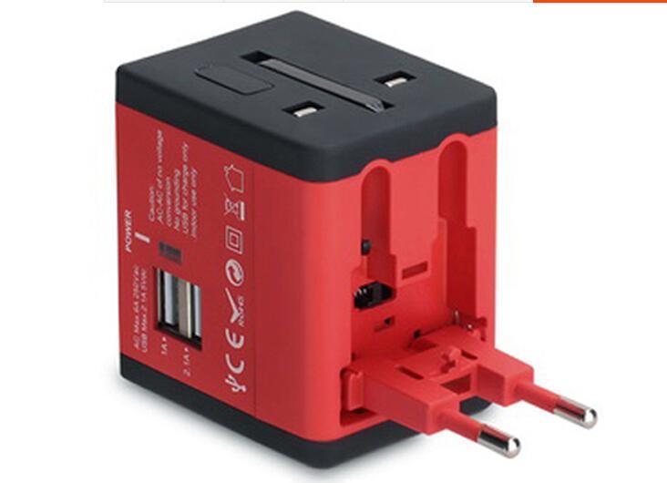 全球通用转换器usb创意插座4