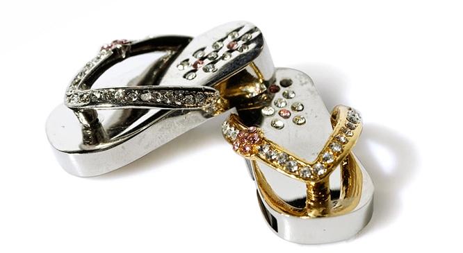 钻石拖鞋创意U盘 3