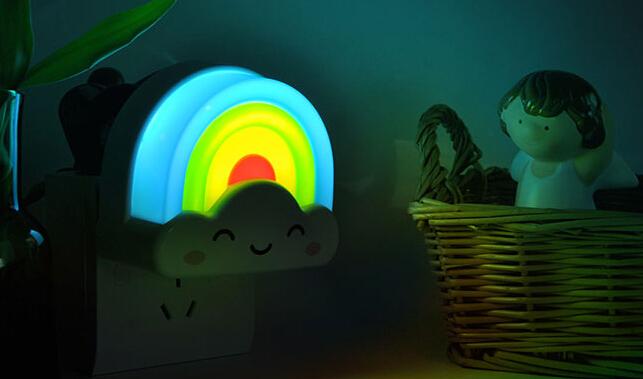创意彩虹小夜灯 3