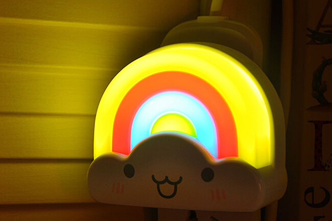 创意彩虹小夜灯 2
