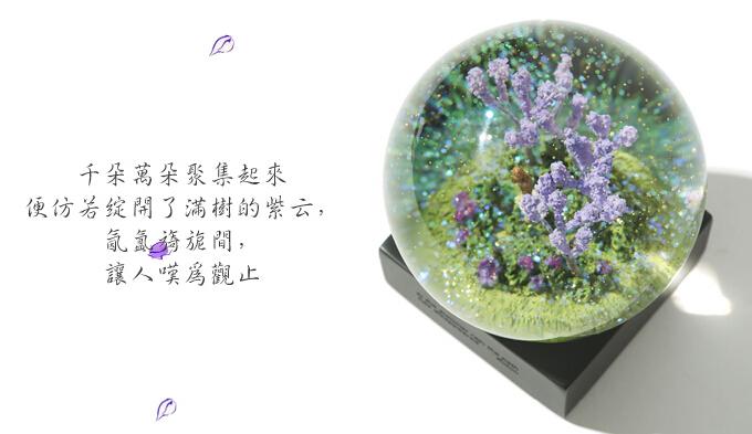 唯美四季水晶球 2