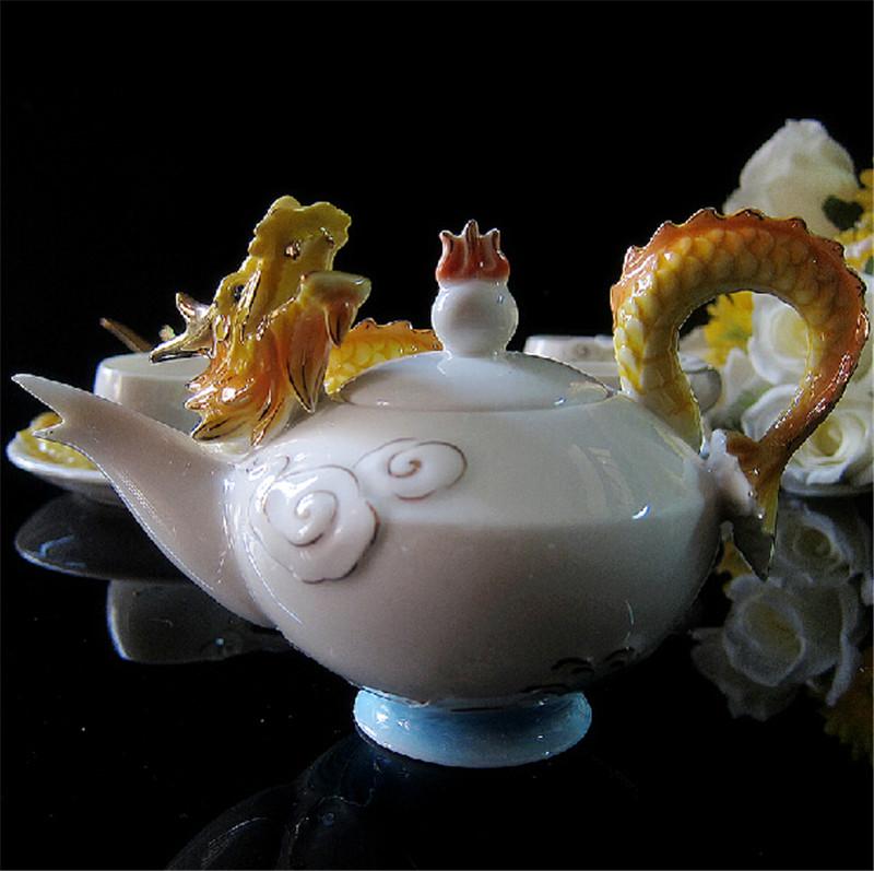 吉祥金龙创意茶具4