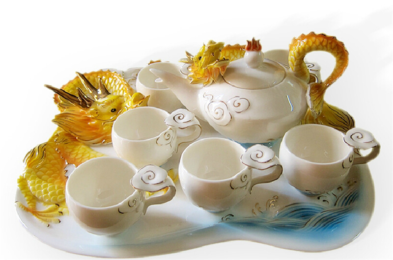 吉祥金龙创意茶具1