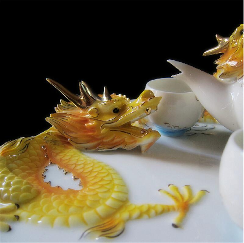吉祥金龙创意茶具3