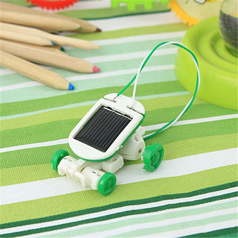 太阳能拼装创意玩具1