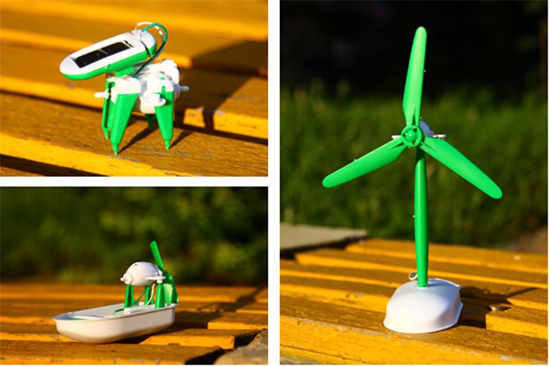 太阳能拼装创意玩具4