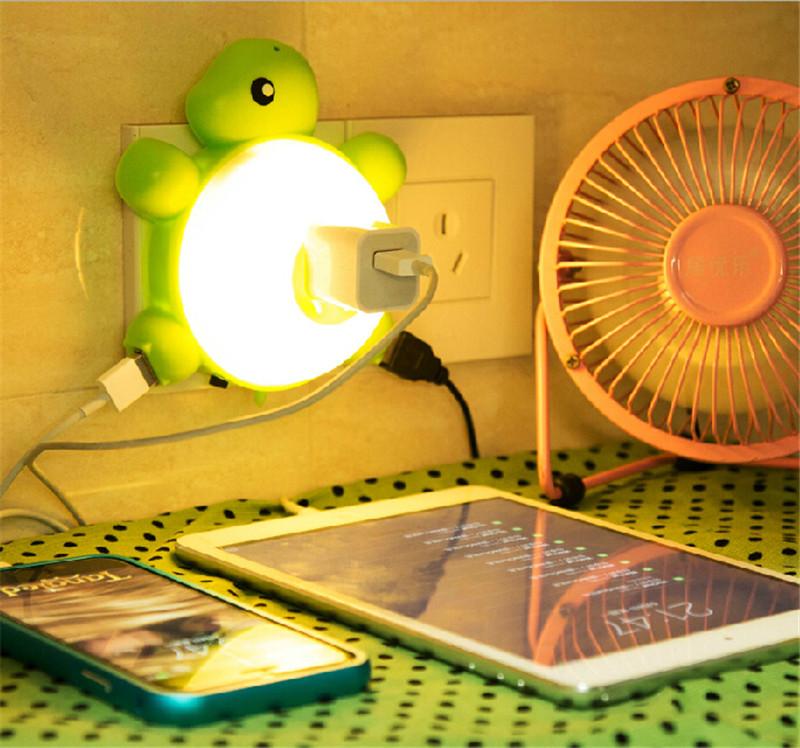 小夜灯插电插座2