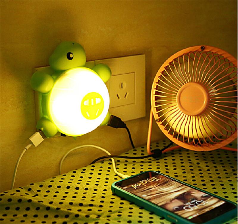小夜灯插电插座1
